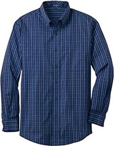 Port Authority Adult Tattersall Easy Care Shirts