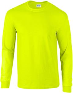 Gildan Ultra Cotton Adult L/S Safety T-Shirts