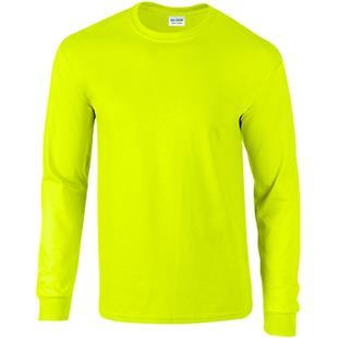 Gildan Ultra Cotton Adult L/S Safety T-Shirts