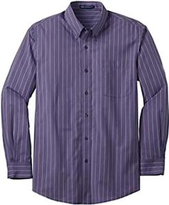 Port Authority Adult Vertical Stripe Shirts