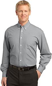 Port Authority Adult Plaid Pattern Shirts