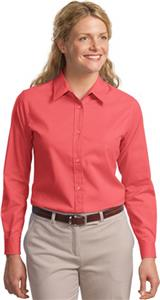 Port Authority Ladies Long Sleeve Easy Care Shirts