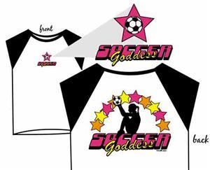 Soccer Goddess Girls soccer tshirt