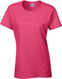 Gildan Pink Heavy Cotton Missy Fit T-Shirts