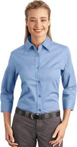Port Authority Ladies 3/4 Easy Care Shirts