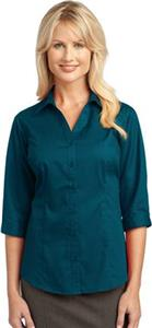 Port Authority Ladies 3/4 Easy Care Blouse
