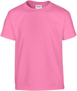 Gildan Pink Heavy Cotton Youth T-Shirts