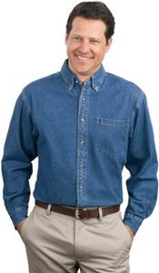 Port Authority Adult Heavyweight Denim Shirts