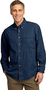 Port & Company Adult Value Denim Shirts