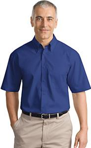 Port Authority Adult Short Sleeve Poplin Shirts