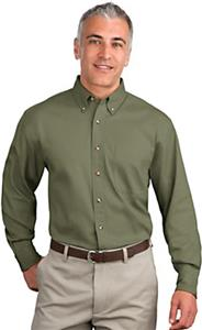 Port Authority Adult Long Sleeve Twill Shirts