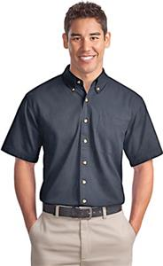 Port Authority Adult Short Sleeve Twill Shirts