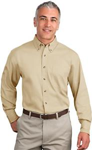 Port Authority Adult Tall Long Sleeve Twill Shirts