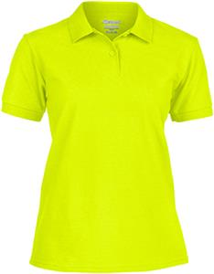 Gildan Safety DryBlend Missy Fit Pique Shirt Polos
