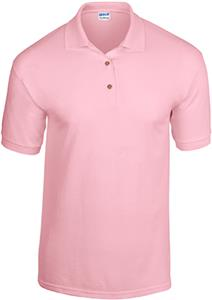 Gildan Pink DryBlend Adult Jersey Sport Shirt Polo
