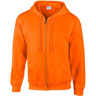 Gildan Safety DryBlend Adult Full-Zip Hoodie