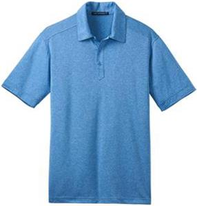 Port Authority Adult Performance Cross Dye Polo