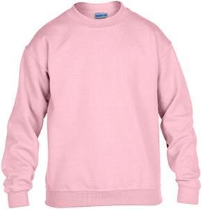 Gildan Pink Heavy Blend Crewneck Sweatshirts