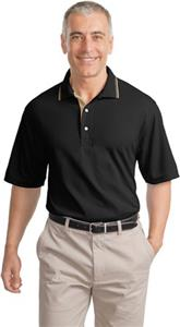 Port Authority Adult Rapid Dry Polo with Trim