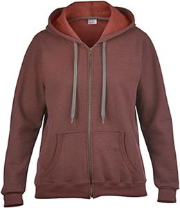 Gildan Heavy Blend Missy Fit Full-Zip Hoodies
