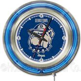 Holland Georgetown University Neon Logo Clock