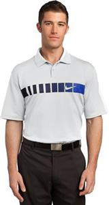 Nike Golf Dri-FIT Chest Stripe Print Adult Polos