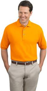 Port Authority Adult Heavyweight Pique Knit Polo
