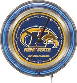 Holland Kent State University Neon Logo Clock