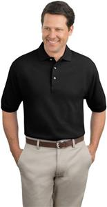 Port Authority Adult Tall Pique Knit Polo
