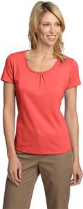 Port Authority Ladies Interlock Scoop Neck Shirt