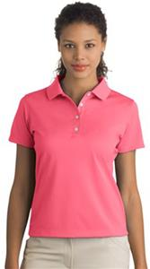 Nike Golf Tech Basic Dri-FIT Ladies' Pink Polos