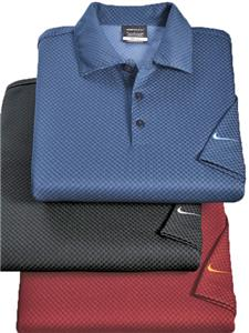Nike Golf Dri-FIT Patterned Adult Polo Shirts