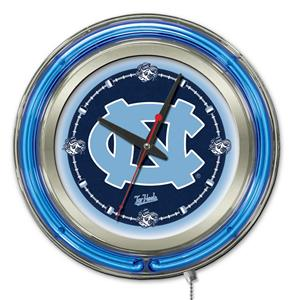 Holland Univ of North Carolina Neon Logo Clock
