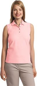 Port Authority Ladies Silk Touch Sleeveless Polos