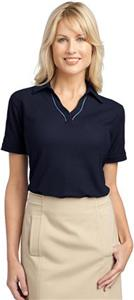 Port Authority Ladies Silk Touch Piped Polos