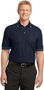 Port Authority Adult Silk Touch Tipped Polos