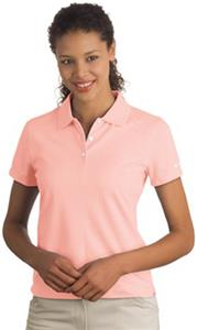 Nike Golf Dri-FIT Pique II Ladies' Pink Polo Shirt