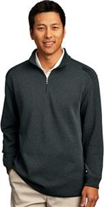 Nike Golf Adult Heather Long Sleeve Zip Cover-Ups