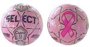 Select Cure II LW (Lightweight) NFHS Soccer Ball