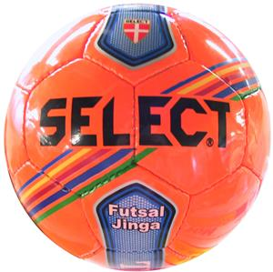 Select Futsal Orange Jinga Soccer Balls - Closeout