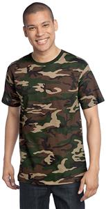 District Made Men's Perfect Weight Crew Camo Tee
