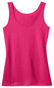 District Made Ladies' Modal Blend Pink Tank Top