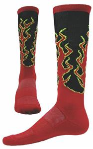 Red Lion Zany Sparks Performance Knee High Socks
