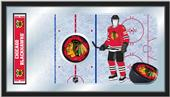 Holland NHL Chicago Blackhawks Hockey Rink Mirror