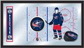 Holland NHL Blue Jackets Hockey Rink Mirror