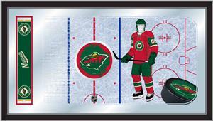 Holland NHL Minnesota Wild Hockey Rink Mirror