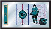 Holland NHL San Jose Sharks Hockey Rink Mirror