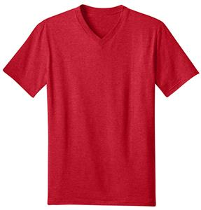 District Young Men's Concert V-Neck Tee Shirts