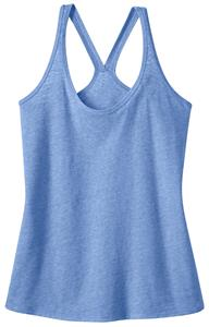 District Juniors Tri-Blend T-Back Tank Top Shirt