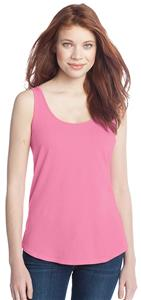 District Juniors Cotton Swing Pink Tank Top Shirt